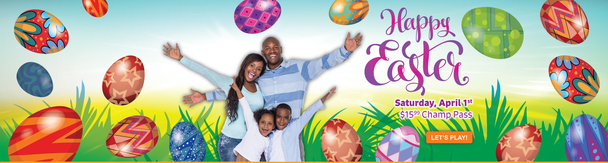 Easter Day Promo Masthead