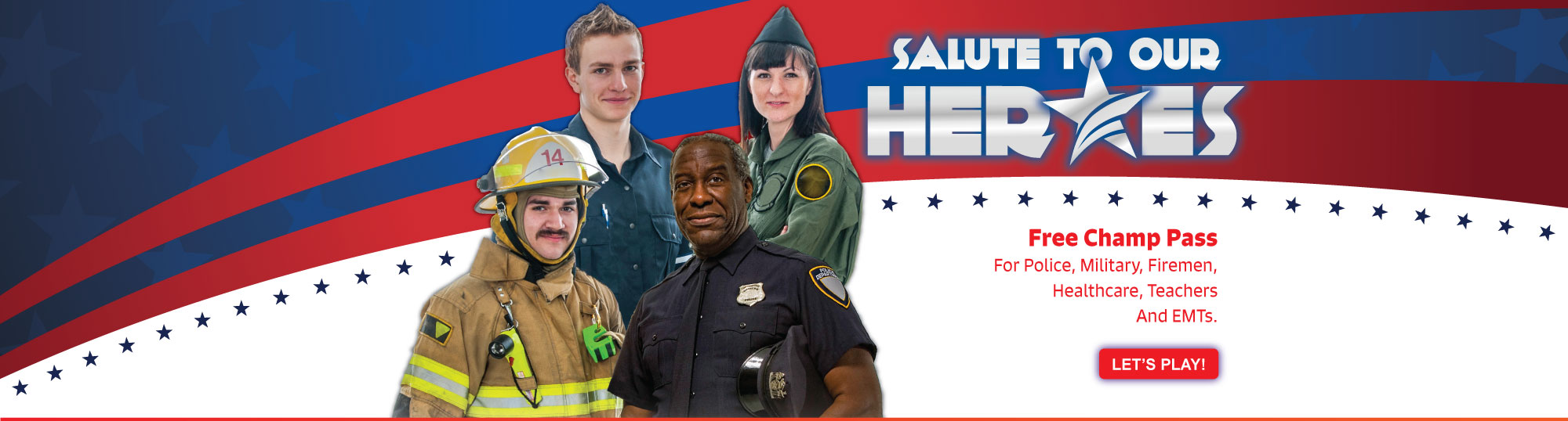 Salute To Our Heroes Masthead